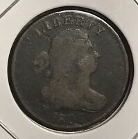 1803 US DRAPED BUST HALF CENT   EARLY COPPER COLLECTOR COIN FREE SHIP