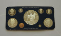 PANAMA PROOF SET 1982 20 5 1 BALBOAS 9 COINS LOW MINTAGE WITH CASE AND COA