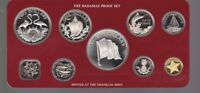 1976 THE BAHAMAS PROOF SET CARDED INC SILVER COINS F 214