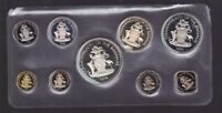 1974 THE BAHAMAS PROOF SET CARDED INC SILVER COINS Q 631
