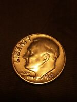 1970 D ROOSEVELT DIME ERROR COIN   PROOF REVERSE  REV 68 FS 901  VF