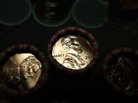 2017 P ORIGINAL BANK WRAPPED BU LINCOLN PENNY CENT ROLL