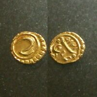 GOLD FANAM  OF TIPU SULTAN_____TIGER OF MYSORE_____MINTED IN