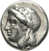 LANZ IONIA MILETOS DRACHM ARTEMON APOLLO LION STAR SILVER GR