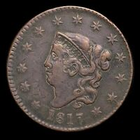 1817 CORONET HEAD LARGE CENT   BETTER VARIETY   TYPE COIN       Z6