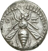 LANZ GREEK PHOENICIA ARADOS DRACHM BEE STAG PALM DATED CY 99