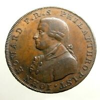 1794 LARGE HALF PENNY ___CONDER TOKEN___PORTSMOUTH HAMPSHIRE