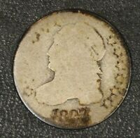 1827 CAPPED BUST DIME CIRCULATED        FREE U.S. SHIPPING