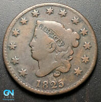 1825 CORONET HEAD LARGE CENT   --  MAKE US AN OFFER  G7010
