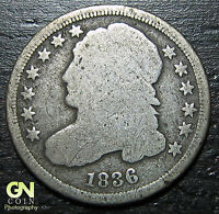 1836 P CAPPED BUST DIME  --  MAKE US AN OFFER  O4377