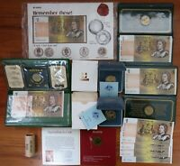 ASSORTED AUSTRALIA $1 COINS & NOTES. MINT ROLL. CONSEC NOTES