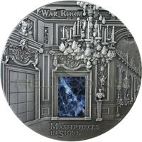FIJI 2018 10$ WAR ROOM VERSAILLES MASTERPIECES IN STONE 3OZ