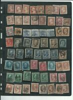 U.S. STAMPS SCOTT COLLECTION OF EARLY BANKNOTE AND EARLIER I