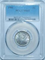 1891 PCGS MINT STATE 65 LIBERTY V NICKEL