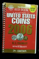 2006 RED BOOK A GUIDE BOOK OF UNITED STATES COINS PRICE GUIDE 59TH EDITION PB