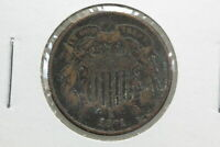 1871 TWO CENT F