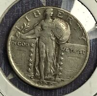 1929-D STANDING LIBERTY SILVER QUARTER. COLLECTOR COIN FOR YOUR COLLECTION.