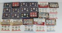 LOT OF 12X US MINT PROOF SETS & 8X US MINT UNCIRCULATED COIN