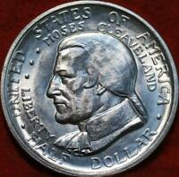 UNCIRCULATED 1936 CLEVELAND GREAT LAKES EXPO SILVER COMM HAL