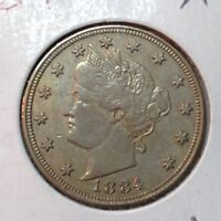 1884  EXTRA FINE    LIBERTY NICKEL    COIN