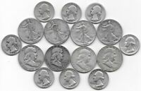 $6.00 FV IN ASSORTED OLD AMERICAN 90  SILVER COINS CIRCULATE