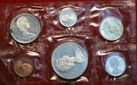 UNCIRCULATED 1965 CANADA SILVER PROOF SET