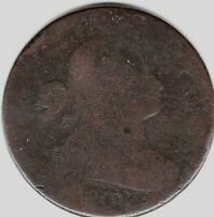 1802 DRAPED BUST LARGE CENT S242 - RARITY R3