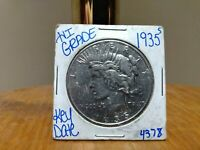 1935 S PEACE SILVER DOLLAR HIGH GRADE KEY DATE IN EXCELLENT CONDITION