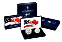 REDUCED     5 2019 PRIDE OF 2 NATIONS LIMITED EDITION TWO COIN SET
