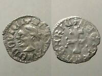 LOUIS I THE GREAT SILVER DENAR____MEDIEVAL HUNGARY & POLAND_