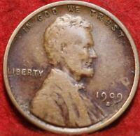 1909 S VDB SAN FRANCISCO MINT COPPER LINCOLN WHEAT CENT
