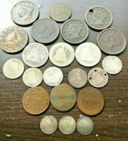 LOT OF 22 U.S. COINS   CIRCULATED/CULLS
