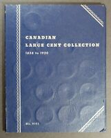CANADA LARGE CENTS COIN COLLECTION
