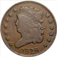 1828 HALF CENT, CLASSIC HEAD, TOUGH EARLY COPPER TYPE