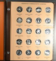 1999 2009 STATE QUARTERS 56 COIN COMPLETE SILVER PROOF SET I