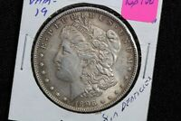 1896 MORGAN DOLLAR VAM-19 8 DENTICLES TOP 100 9HUK