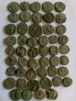 019.LOT OF 49 ANCIENT ROMAN BRONZE COINS UNCLEANED