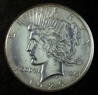 1926 P PEACE SILVER DOLLAR  POLISHED  GREAT SET FILLER 540