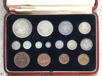 COINS 1937 PROOF SET IN ROYAL MINT CASE INCLUDING MAUNDY COINS.