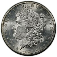 1887 S MORGAN DOLLAR PCGS MINT STATE 61 - HAS NOT BEEN TO CAC