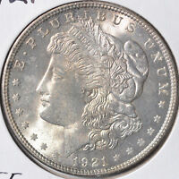1921 $1 MORGAN SILVER DOLLAR PHILADELPHIA CHOICE BRILLIANT UNCIRCULATED BU
