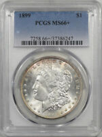 1899 MORGAN DOLLAR PCGS MINT STATE 66