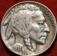 1931 S SAN FRANCISCO MINT  BUFFALO NICKEL