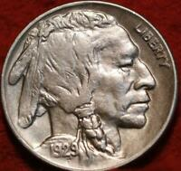 1929 D DENVER MINT BUFFALO NICKEL