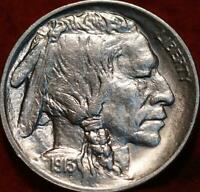 UNCIRCULATED 1913 TYPE II  PHILADELPHIA MINT BUFFALO NICKEL