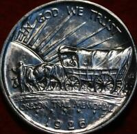 UNCIRCULATED 1926 PHILADELPHIA MINT OREGON TRAIL SILVER COMM