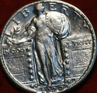 UNCIRCULATED 1929 S SAN FRANCISCO MINT SILVER STANDING LIBER