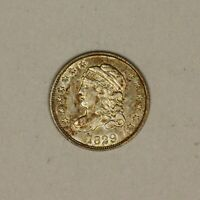 1829 CAPPED BUST HALF DIME LM- 2  DETAIL