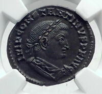 CONSTANTINE I THE GREAT AUTHENTIC ANCIENT 310AD ROMAN COIN SOL SUN NGC I81469