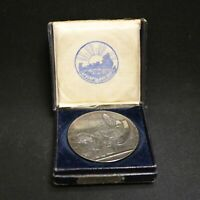 ICELAND 1930 SILVER 10 KRONER 1000 YEARS OF ALTHING NICELY TONED IN ORIGINAL BOX